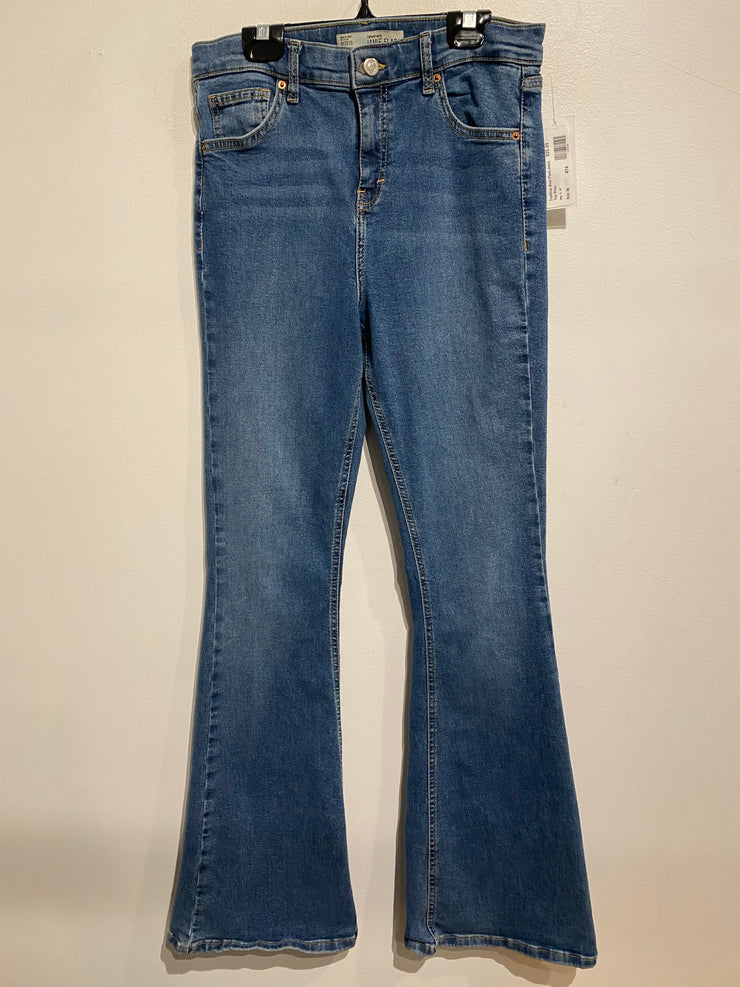 TopShop Blue Flare Jeans