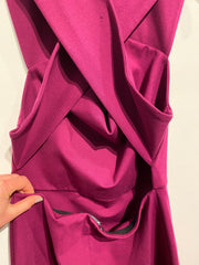 Talula Magenta Cut Out Back Dr