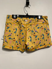 IAB MFG Yellow Pattern Short