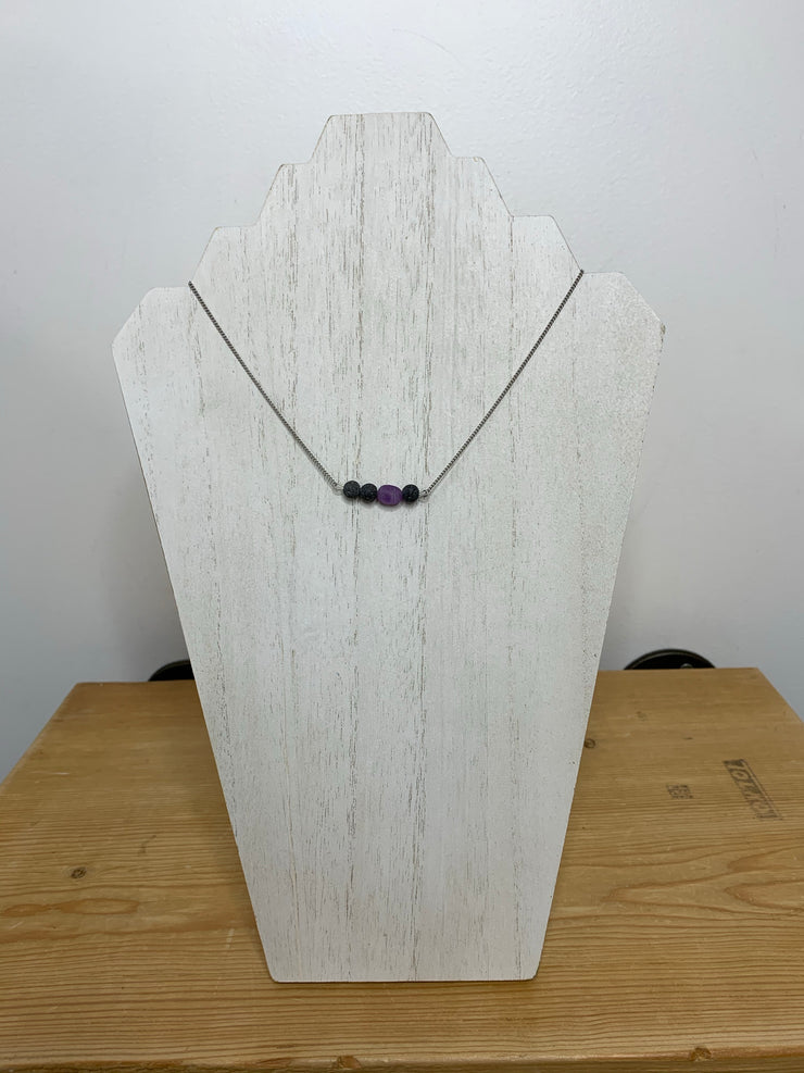 Lava Necklace Stainless Steel