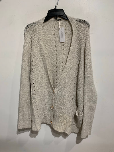 Free People Cream TextureCardi