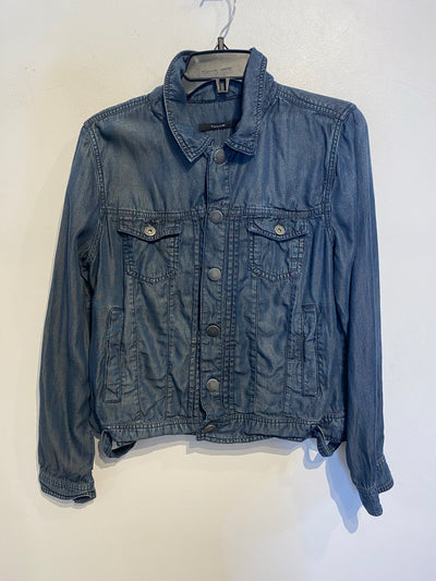 Tahari Dark Chambray Jacket