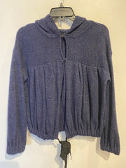Free People Purple Cardi