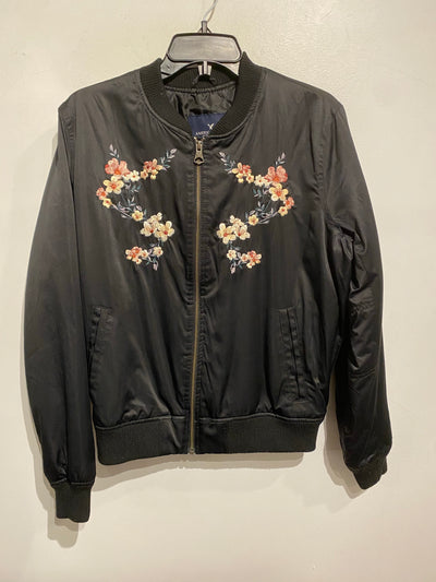 AE Black/Embroidered Bomber