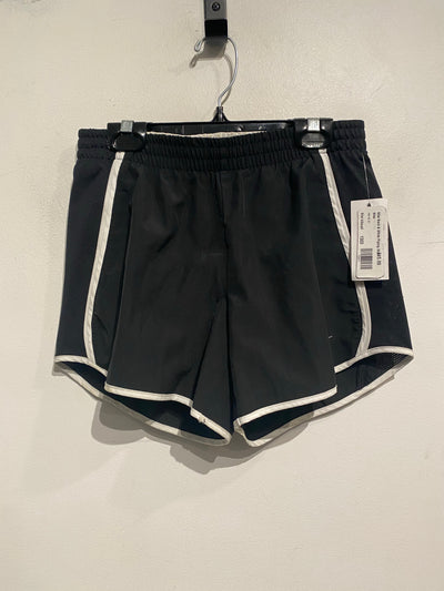 Nike Black & White Piping Short
