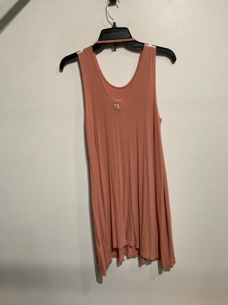 Billabong Pink Ribbed Dress