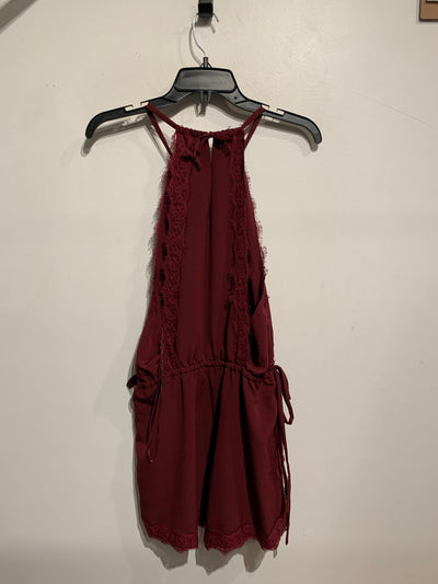 Kendall & Kylie Burgundy Lace