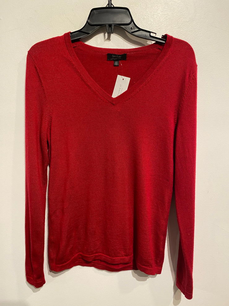 Lord & Taylor Red Long Slv
