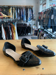 Restricted Blk Open Loafer