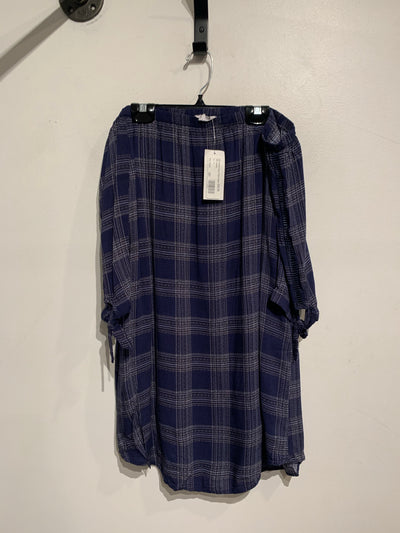 BB Dakota Navy Plaid Offsh.