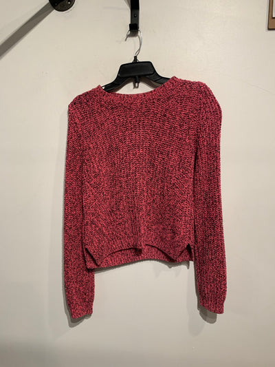 H&M Pink/Blk Knit Sweater