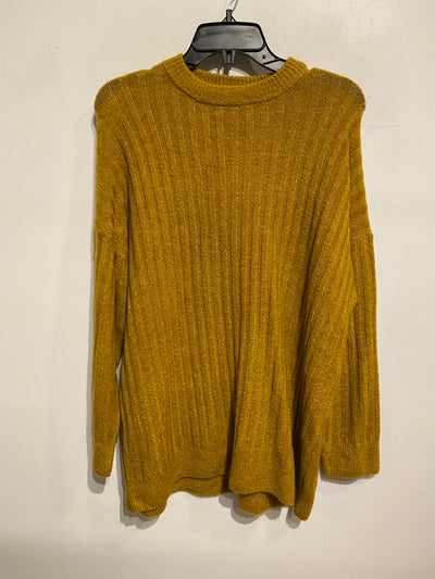 Only Mustard Ribbed Sweater