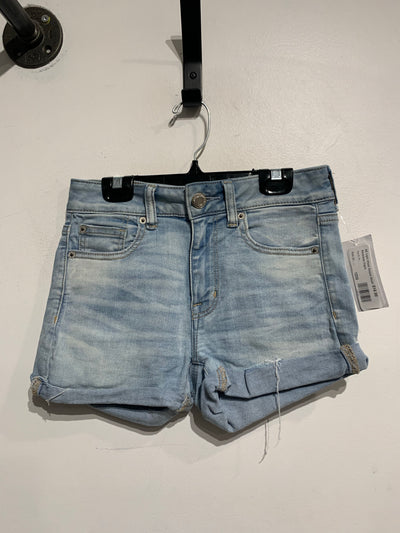 AE Light Wash Denim Short