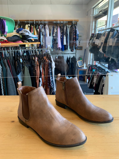 Harlow Tan Ankle Boot