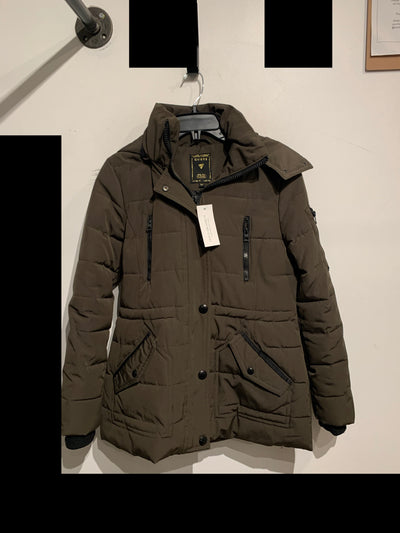 Guess Army Green Parka