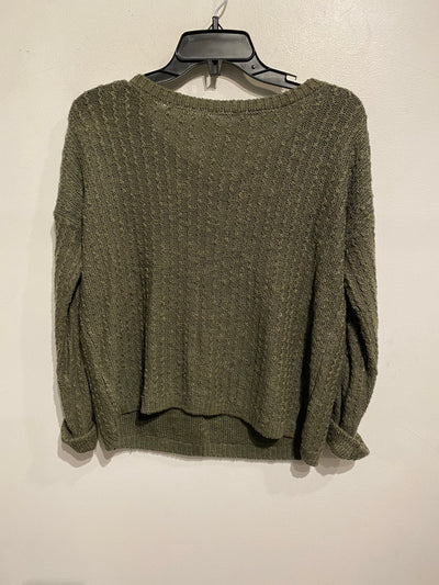 Hollister Olive Knit Sweater