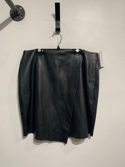 Temperance Faux Leather Skirt