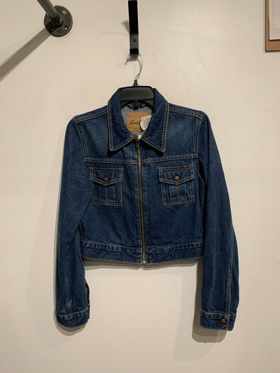 Levi's Zipper Crop DenimJacket