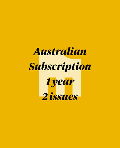 Manual 1 Year Australian Subscription