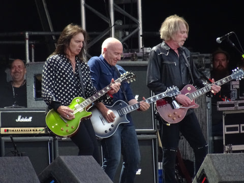 Thin Lizzy at the Ramblin'Man Fair 2016 - pictured by Fretunk