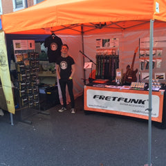 Fretfunk Stand Castle Road Record Store Day 2016