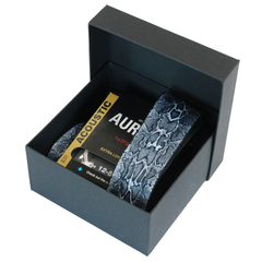 Fretfunk Gift box containing guitar strap and coloured strings