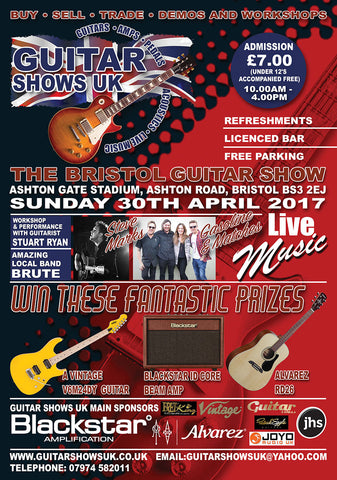 Fretfunk to attend Bristol Guitar Show