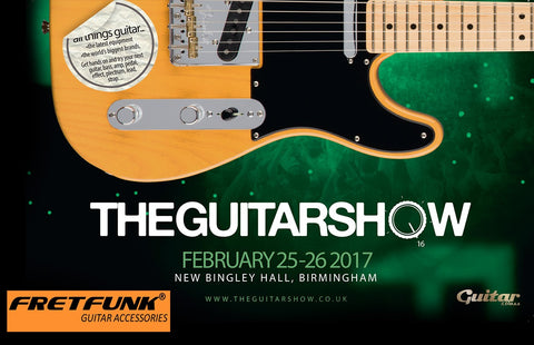 Fretunk at The Guitar Show February 2017
