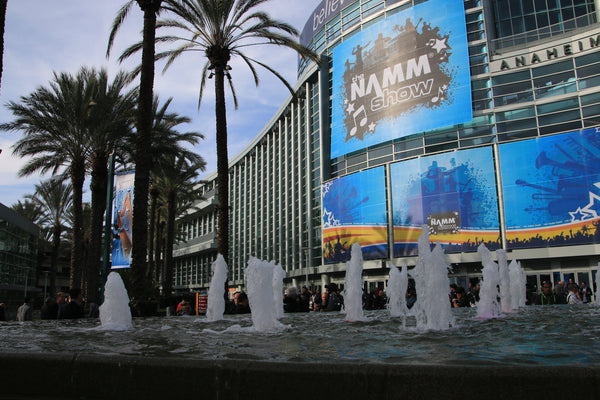 Anaheim convention center during the NAMM show.