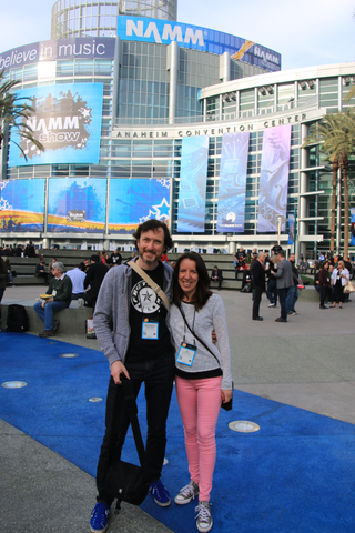 Fretfunk team attend NAMM show 2015