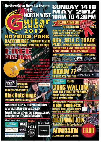 Fretfunk at the Northern Guitar Show Haydock Park