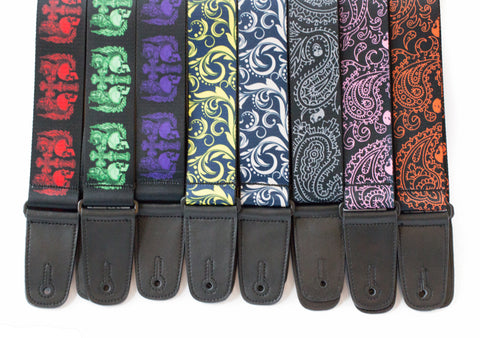 Guitar Straps in great range of colours