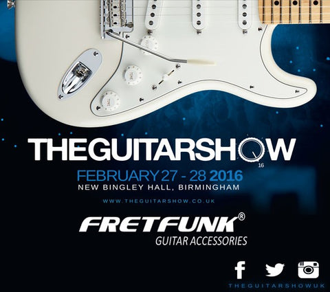 Fretfunk at the Guitar Show 2016