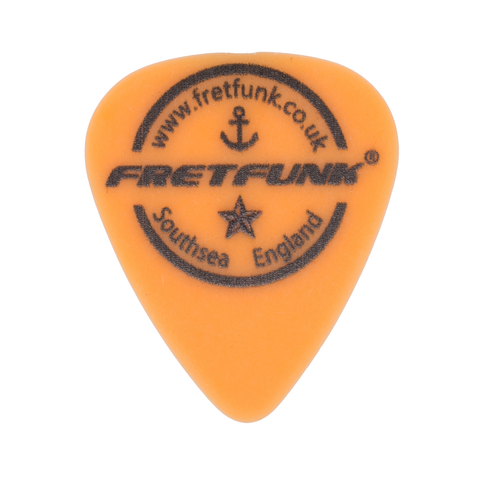 Fretfunk Custom Guitar Picks 12 Pack - 0.60 mm Electric Orange - Fretfunk  - 1