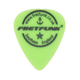 Fretfunk Custom Guitar Picks 12 Pack - 0.88 mm Neon Green - Fretfunk  - 1