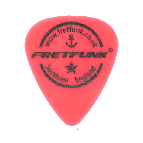 Fretfunk Custom Guitar Picks 12 Pack -  0.50 mm Rocket Red - Fretfunk - 1