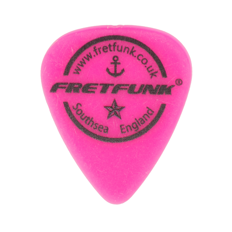 Fretfunk Custom Guitar Picks 12 Pack - 1.00 mm Shocking Pink - Fretfunk  - 1