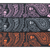 "Guitar Strap with ""Bandana Skulls"" Design - Fretfunk  - 9"