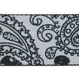 "Guitar Strap with ""Bandana Skulls"" Design - Fretfunk  - 10"