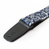 "Guitar Strap with ""Filigree"" Design - Fretfunk  - 4"