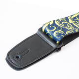 "Guitar Strap with ""Filigree"" Design - Fretfunk  - 2"