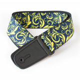 "Guitar Strap with ""Filigree"" Design - Fretfunk  - 1"