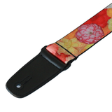"Guitar Strap with ""Floral"" Design - Fretfunk - 2"