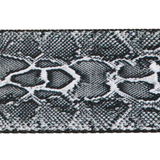 Guitar Strap with Snakeskin Design Close up - Fretfunk
