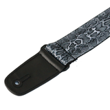 "Guitar Strap with ""Snakeskin"" Design - Fretfunk - 5"