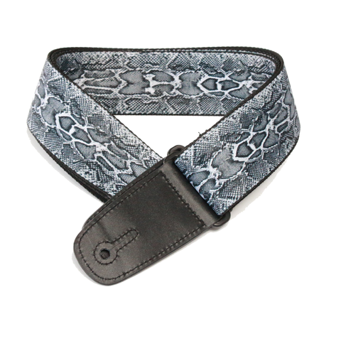 "Guitar Strap with ""Snakeskin"" Design - Fretfunk - 4"