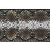 "Guitar Strap with ""Snakeskin"" Design - Fretfunk - 3"