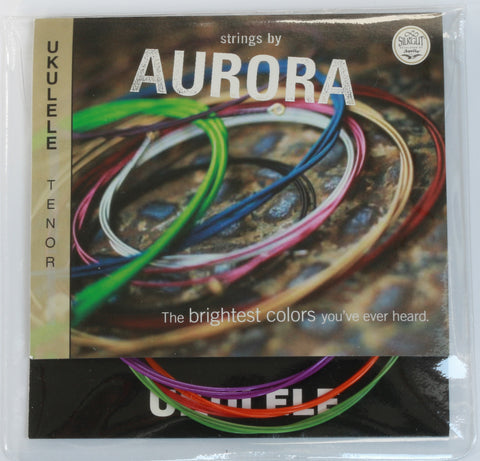 Aurora Premium Coloured Tenor Ukulele Strings