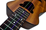 Fretfunk stock aurora multi colour uke strings