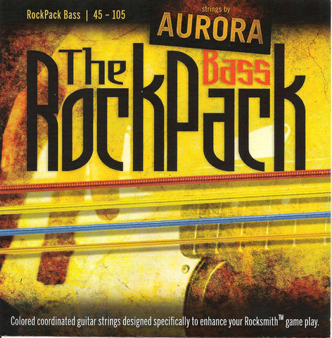 The RockPack - Rocksmith Coloured Bass Guitar Strings - Fretfunk  - 1